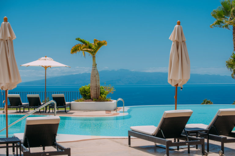 Pool view La Gomera